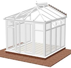 Conservatory Full Glass